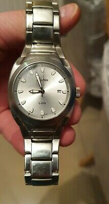 VINTAGE ADIDAS MEN'S SILVER STAINLESS STEEL WATCH 10-5030