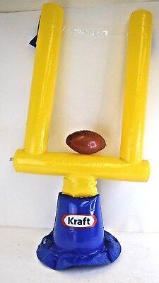 Kraft Foods Inflatable Football Goal Post New