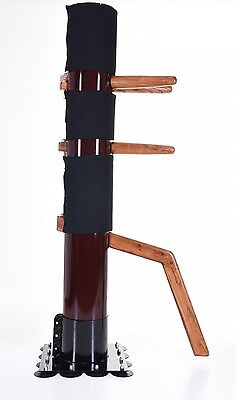 Wing Chun Mind Wooden Dummy Sale Mook Yang Jong made of Iron Body free shipping