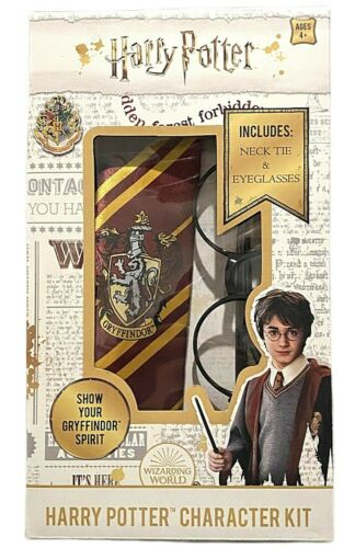 Harry Potter Character Costume Kit Necktie & Eyeglasses New