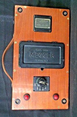 Vtg J G Biddle Co Megger Series 1 Insulation Tester Meter Voltage 2500 England