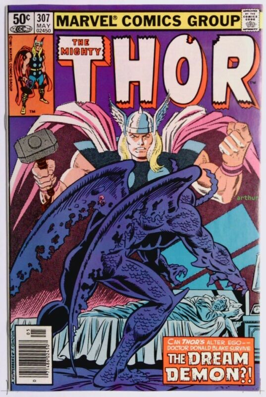 Thor #307 (May 1981, Marvel) NM