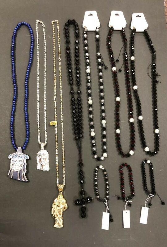 Lot Of 10 Mixed NECKLACE