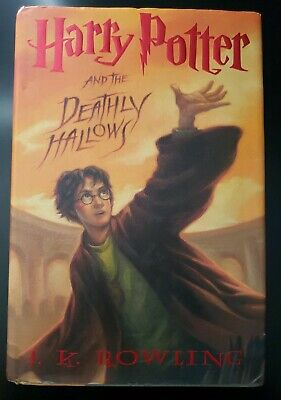 HARRY POTTER and the Deathly Hallows 1st/1st First Edition, 1st Print Hardcover (Harry Potter And The Deathly Hallows Hardback)