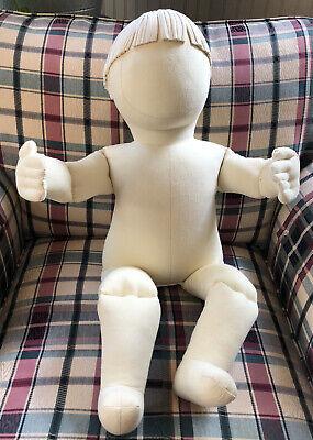 Vintage 1977 Bendable Mannequin Boogie Bears Design 18 Months