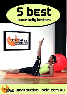 Toning EXERCISE DVD - Barlates Body Blitz - 5 Best Lower Belly