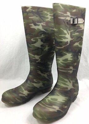 Kamik Women's Squad Rubber Rain Boots SIZE 8 - Waterproof - Camo - NEW in Box