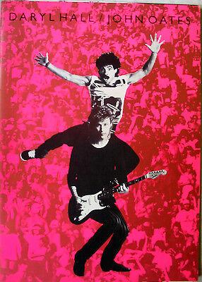 HALL & OATES 1984 CONCERT TOUR PROGRAM