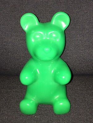 """Green Gummy Bear Squeaky Toy Squeeze Rubber Novelty Squeak 9"""" - Gummy Bear Toys"""