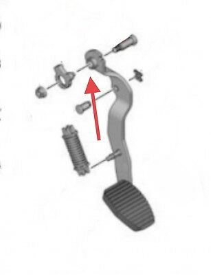 Citroen Berlingo/Peugeot Partner 1.6hdi Clutch Pedal Pivot Bolt Washers X2