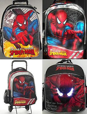 SPIDER-MAN Ranzen MARVEL Rucksack NEU Schultasche Kindergartentasche Schulranzen