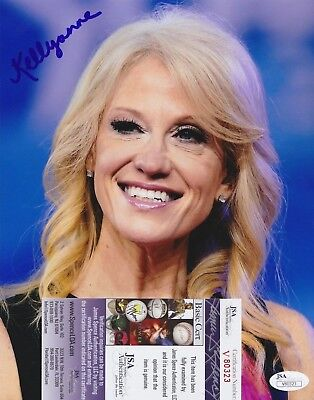 Kellyanne Conway Signed 8x10 Photo w/ JSA COA #V80323 Donald Trump