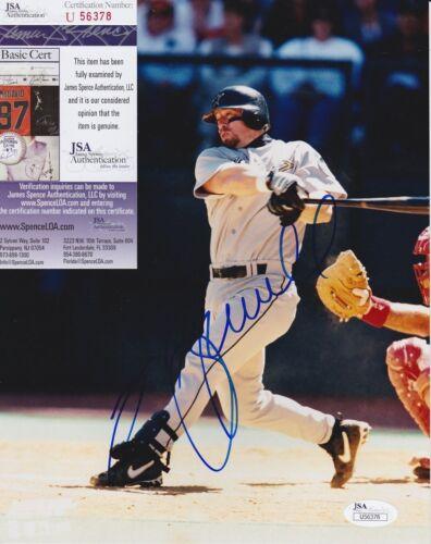 Jeff Bagwell Signed 8x10 Photo w/ JSA COA #U56378 Houston Astros