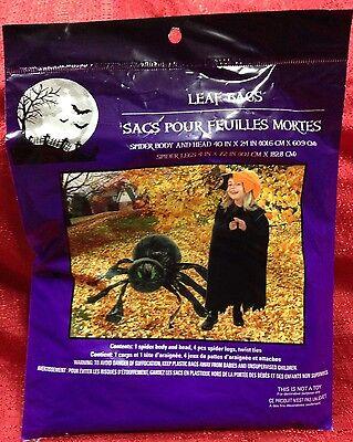 Spider Leaf Bag (Halloween Lawn Spider Leaf Bag Brand)