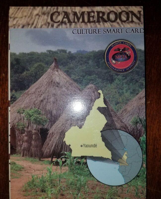 US Army USMC Cameroon Cultural Smart Card
