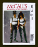 McCalls Sewing Pattern 7176~COSPLAY ACCESSORIES~Chaps, Holster, Hats + More