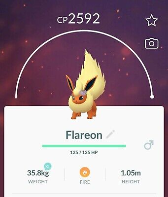 Pokemon Go | Flower Crown Flareon Trade