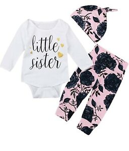Little Sister Baby Outfit - Brand new in package