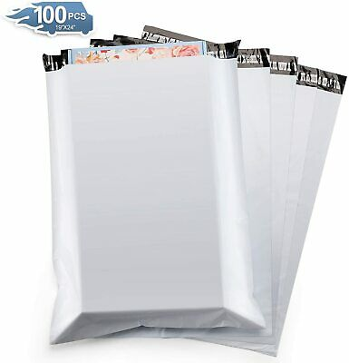 100 12x15.5 Poly Mailers Shipping Envelopes Self Sealing Plastic Mailing Bags