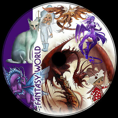 Fantasy Fairy Dragons Unicorns .png Vector 1000 Best Clipart Royalty-free Dvd