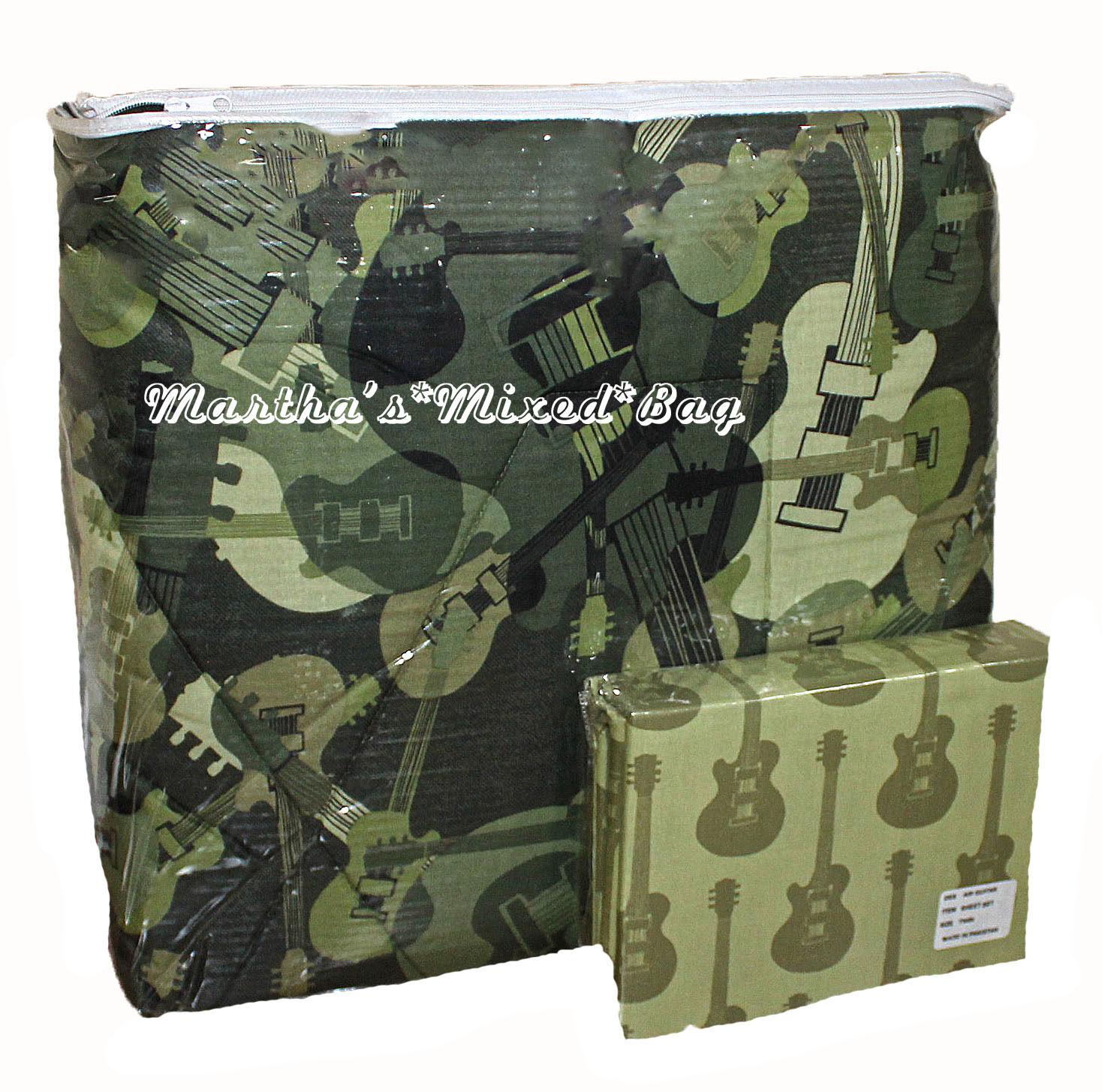 guitar teen boys sheet sets