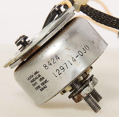 Ledex Rotary Solenoid 8424 - 129714-030 Screws Code Ident. 81840