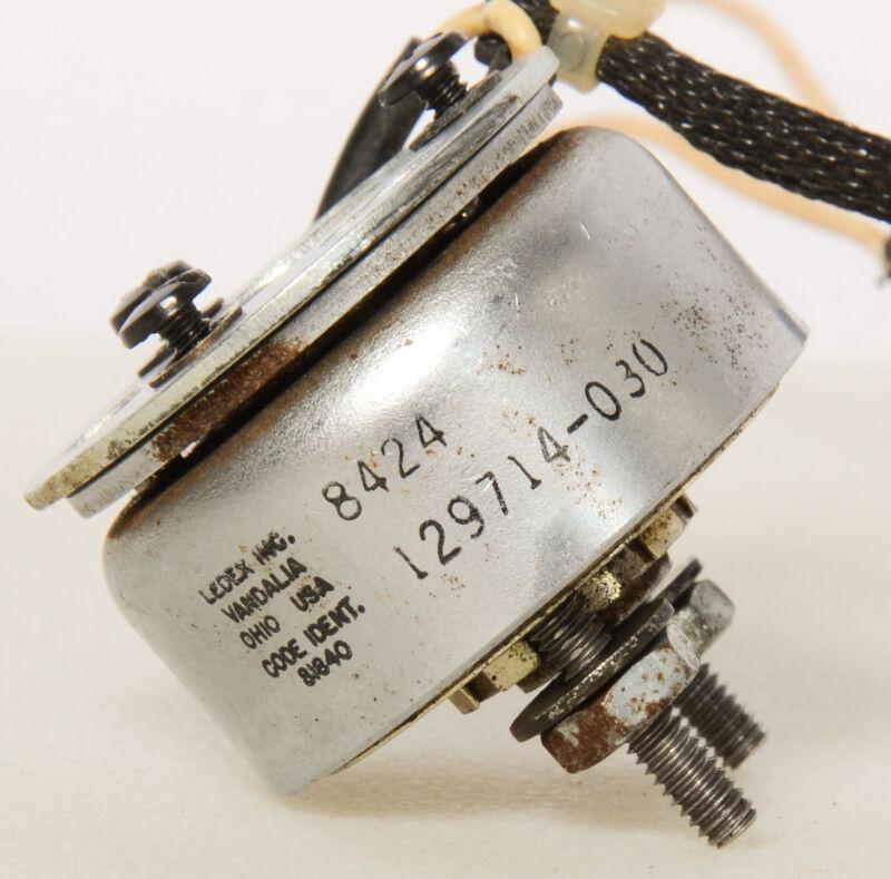 Ledex Rotary Solenoid 8424 - 129714-030 + Screws Code Ident. 81840