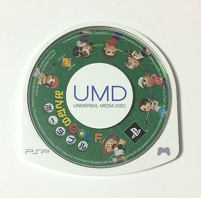 USED PSP Disc Only Minna no Golf Portable JAPAN PlayStation Portable Everybody