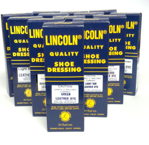 Lincoln Leather Dye
