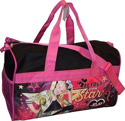"Nickelodeon Jojo Siwa Girl's 18"" Carry-On Duffel Bag"
