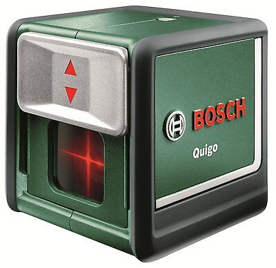Bosch Quigo Self-Levelling Cross-Line Laser Level. Compact. NEW