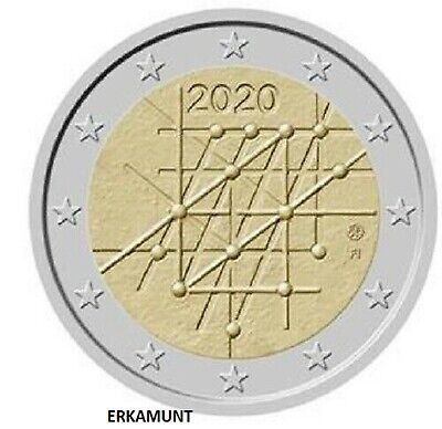 5x2 euro Finnland 2020 : 100 Jahre Universität Turku   VVK !