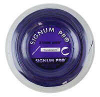 Signum Pro - Thunderstorm 1.30mm - Tennis String - Purple Violet - 200m Reel - signum pro - ebay.co.uk