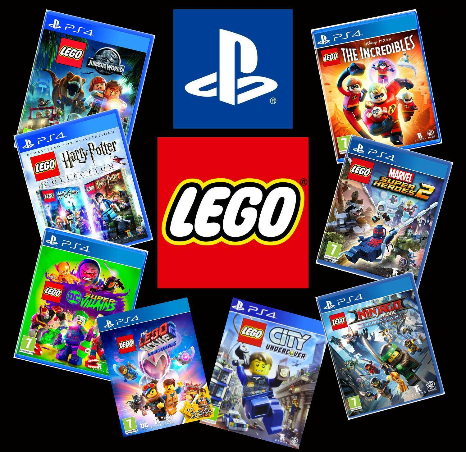 Range of LEGO PS4 PS5 Games - New & Sealed - Lots to choose from!