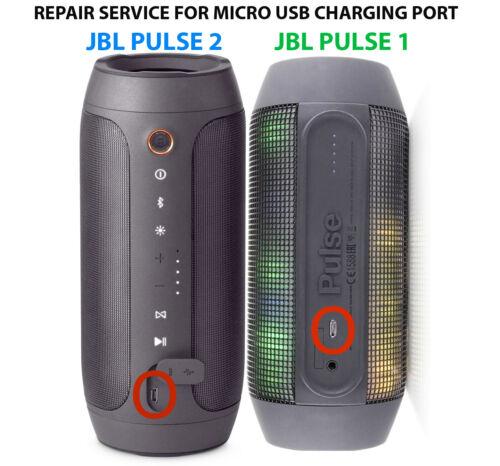 JBL PULSE 2 1 Bluetooth Speaker FAST REPAIR SERVICE For Micro USB Charging Port