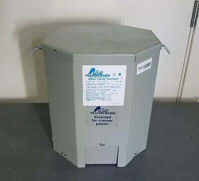 Acme T-2-53516-3s Step Down Transformer 240480 To 120240 1 60hz10 Kva