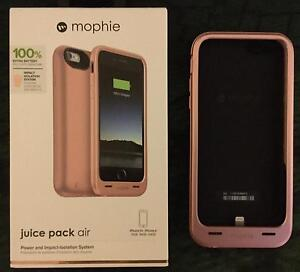 """MOPHIE JUICE PACK AIR FOR iPHONE 6S 4.7"""" SCREEN (ROSE GOLD) St Agnes Tea Tree Gully Area Preview"""