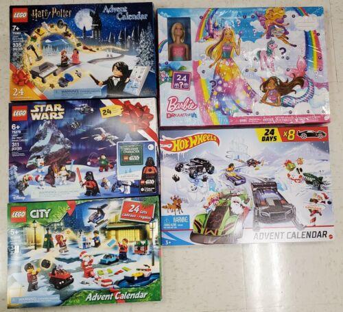 2020 Advent Calendars - Pokémon, Lego Harry Potter, Lego Friends