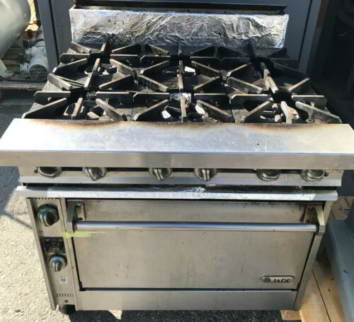 Jade Titan Range Series 6 Burner Oven