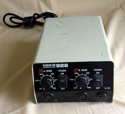 Genuine Hakko 928 Soldering Station Esd Safe 120 Volt