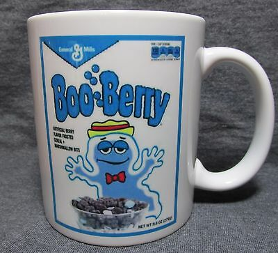 Boo Berry Cereal Box Coffee Cup, Mug - GM Classic - Sharp - COLLECT THE SET!