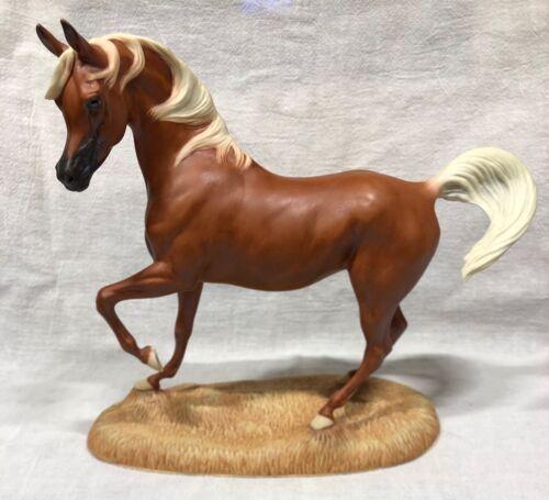 Franklin Mint MY FRIEND FLICKA Porcelain Horse Figurine By Pamela Du Boulay