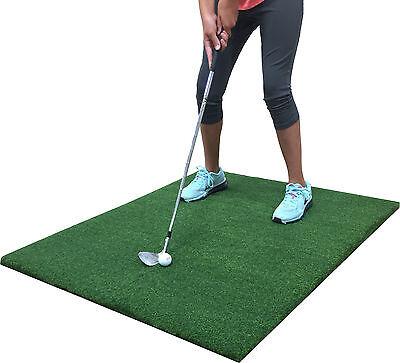 """Backyard Golf Mat 36"""" x 36"""" Pro Residential Practice Golf Chipping Fairway Mat"""