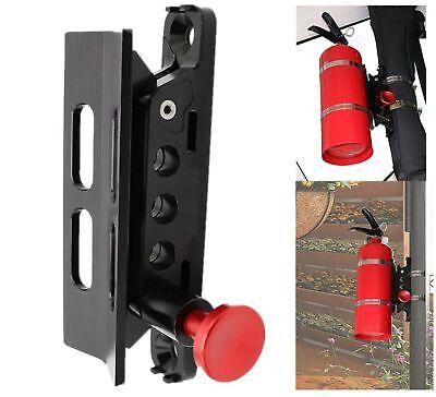 Vehicle Universal Roll Bar Bottle Fire Extinguisher Holder Mountadjustable...