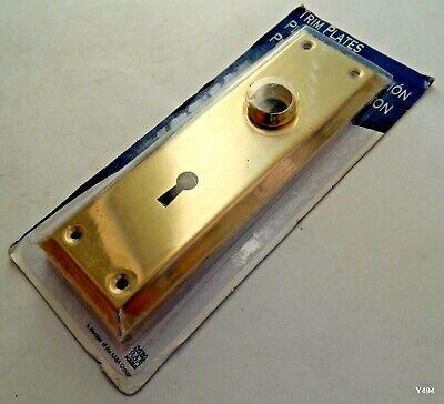 Brass Trim Plates for Ilco Mortise Locks 214-03-51 Mortise Trim Plate