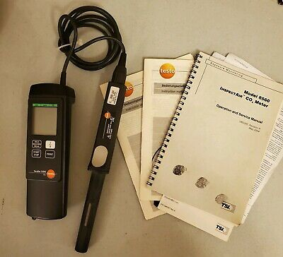 Testo-535 Ambient Co2 Analysis Meter