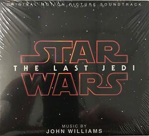 Star Wars : The Last Jedi - JOHN WILLIAMS (SOUNDTRACK) [CD-Digipak] New Sealed