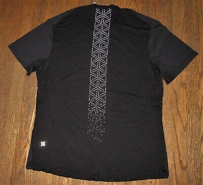 Lululemon Shirt Running Reflective Fitness Men's XL