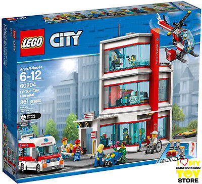 IN STOCK - LEGO 60204 CITY OSPEDALE DI LEGO® CITY HOSPITAL (2018) - MISB