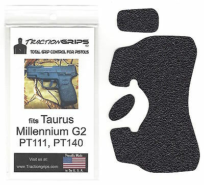 Tractiongrips rubber grip tape overlay for Taurus Millennium